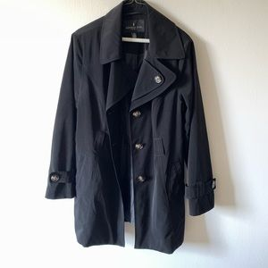 London Fog Double Collar Trench Jacket